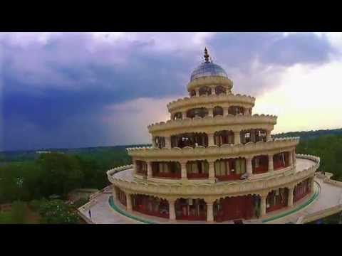 The Art of Living International Center, Bangalore (Aerial View)