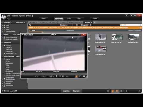 Szenenerkennung in Pinnacle Studio 16 und 17 Video 24 von 114
