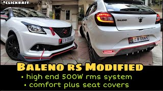 baleno rs modified high end system dd audio in cheap price Video