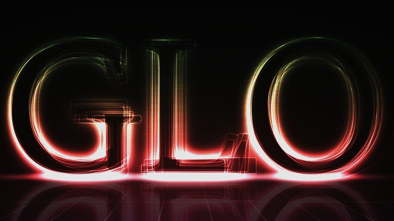 Create a Glowing Neon Text Effect in Photoshop YouTube t