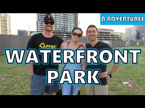 Waterfront Park + Cute Dogs, Brisbane AU Vlog #20