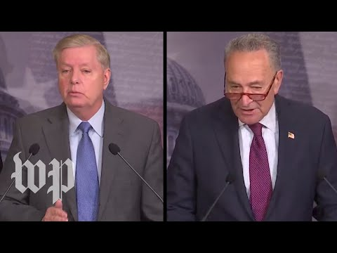 WATCH LIVE: Schumer, Graham hold news conferences on day three of opening arguments