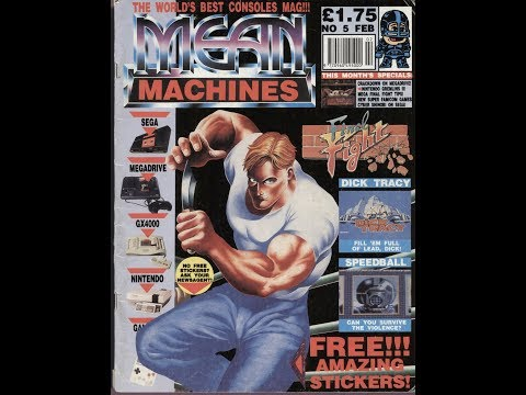 "Computer & Video Game Magazines - ""Mean Machines"""