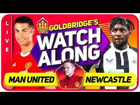 MANCHESTER UNITED vs NEWCASTLE LIVE GOLDBRIDGE Watchalong! Cristiano Ronaldo Returns