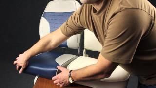 Мягкие кресла ECONOMY для лодки или катера(Удобные и недорогие кресла для вашей лодки, катера или яхты! Мягкое кресло ECONOMY снабжено складывающейся..., 2015-03-24T04:35:05.000Z)