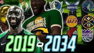 TACKO FALL'S ENTIRE CAREER SIM | ROOKIE CHAMPION!?  NBA 2K20