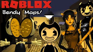 BENDY RUNS FROM SCARY BENDY! (BATIM ROBLOX Maps 4)