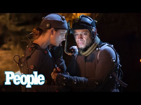 Thumbnail: Planet Of The Apes: Judy Greer On Kissing Andy Serkis In Motion Capture Suit | People NOW | People