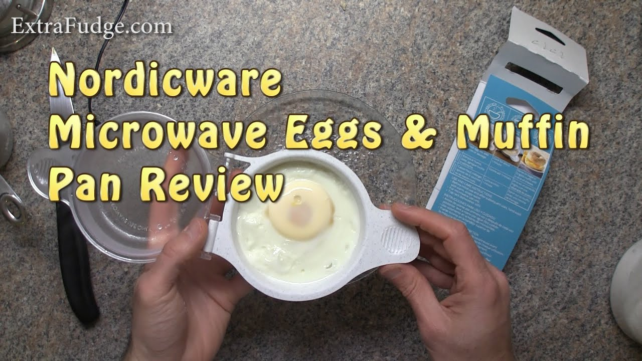 nordicware microwave eggs muffin pan review