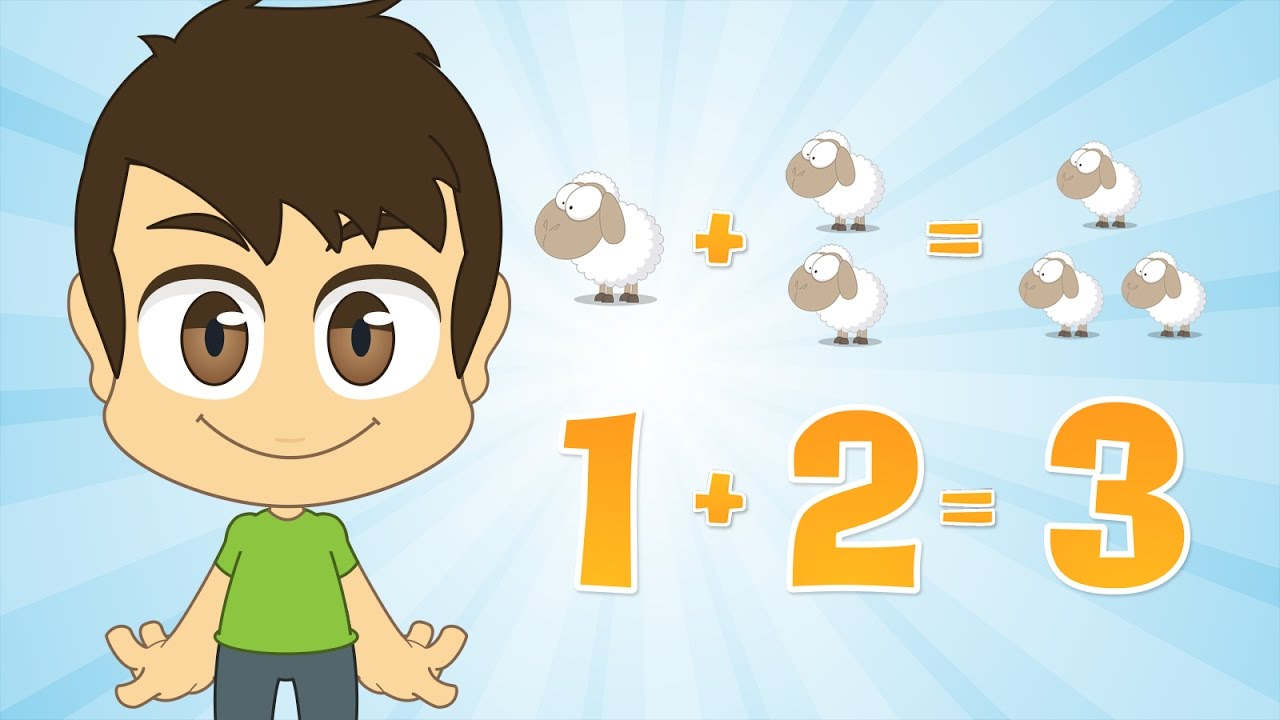 Learn Addition For Kids Number 1 Math For Kids With Zakaria Youtube