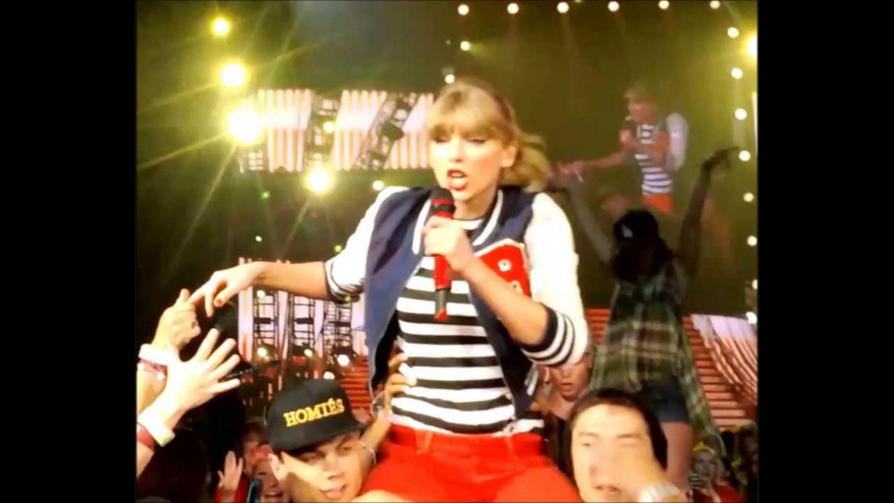 Taylor Swift 22 Red Tour Pepsi Center Denver Co 6 2 13 Youtube