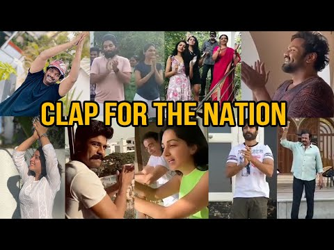 Tollywood Celebrities Clapping