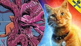 Captain Marvel's Cat Goose (Chewie) Origins and Powers Explained