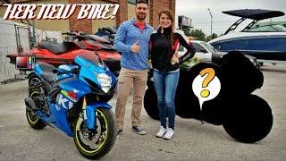 Buying Her New Sport Bike!!!