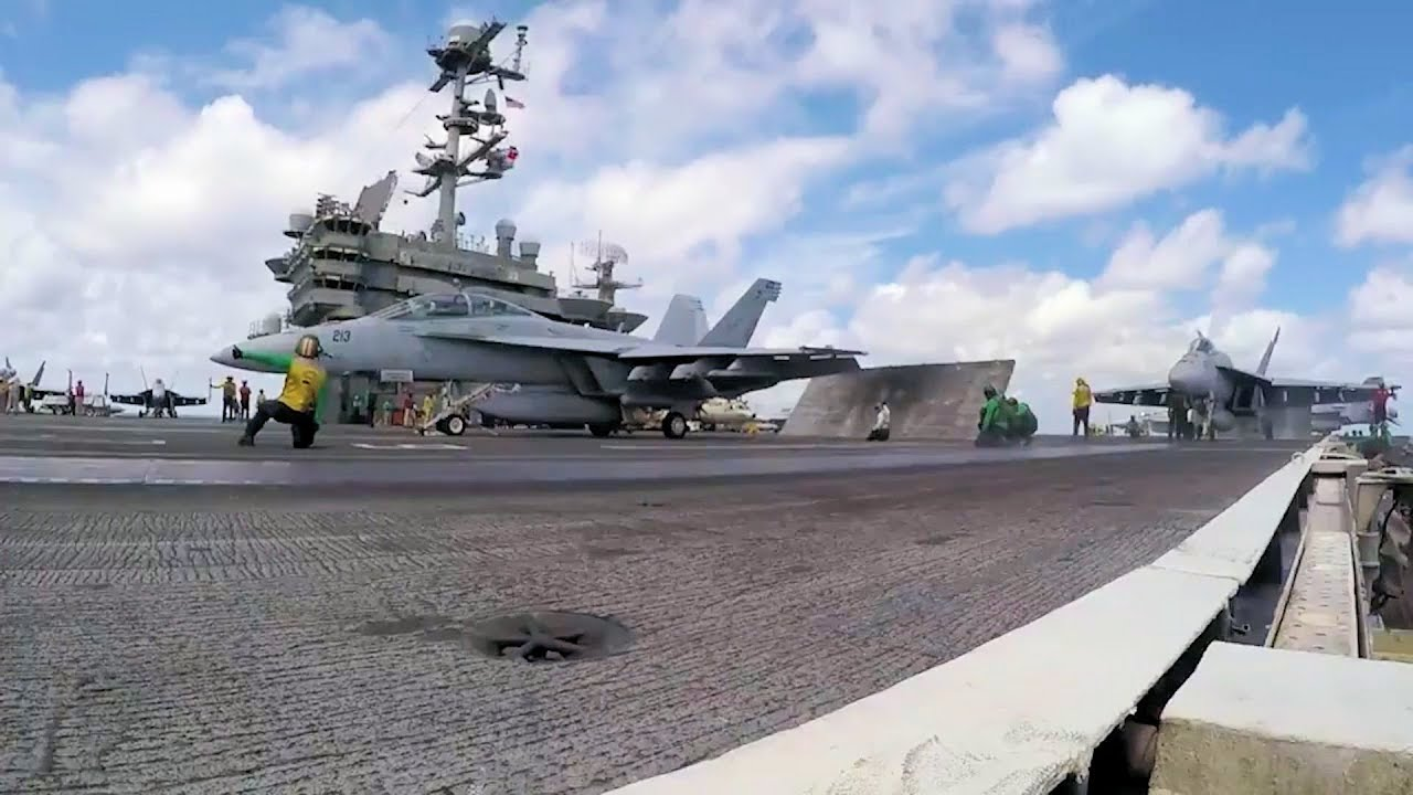 USS Harry S. Truman Fixed Wing Flight Operations