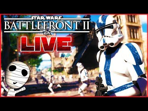 Kurzer Star Wars Stream zum Start in den Tag! 🔴 Star Wars: Battlefront II // PS4 Livestream thumbnail