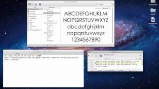 Mac OS X Systeem lettertypes aanpassen