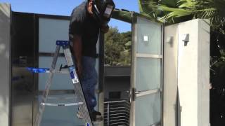 Stainless Steel Gate Installation San Diego