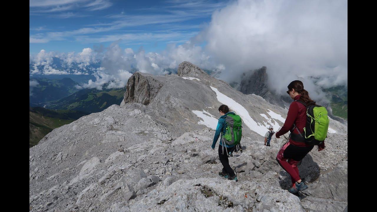 Wanderung zum Berggipfel Sulzfluh im Montafon | Vorarlberg