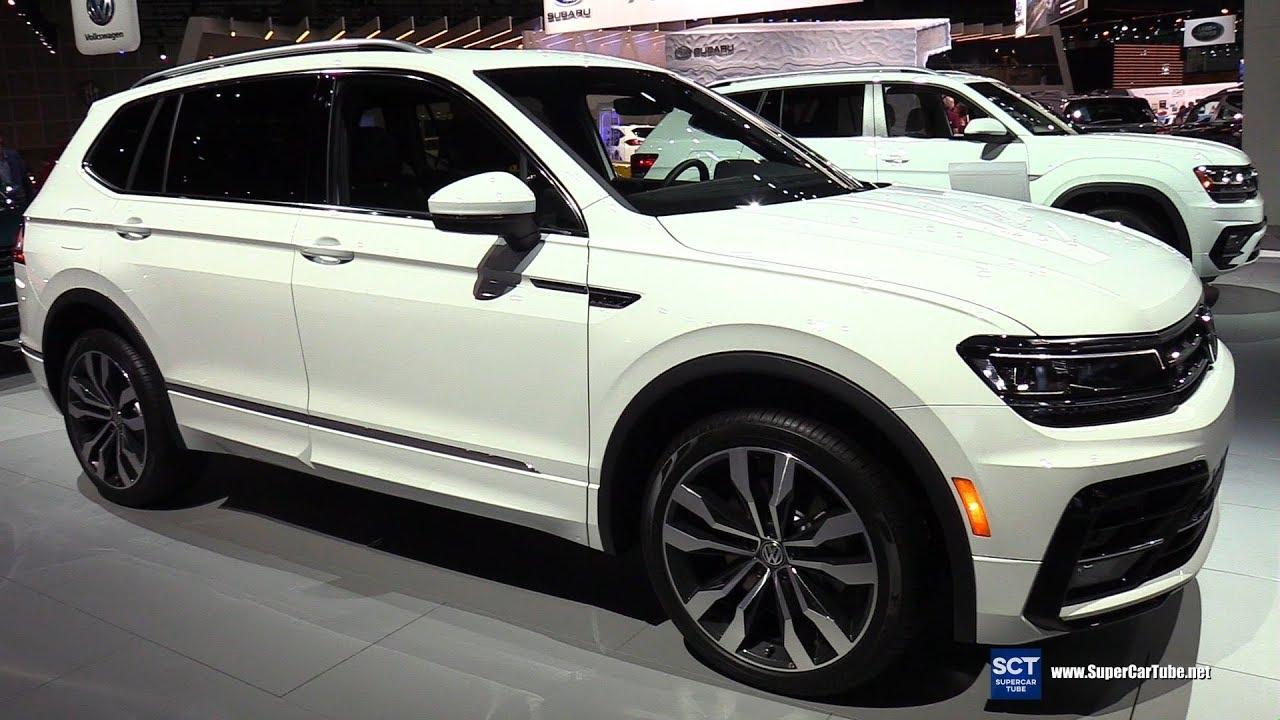 Volkswagen Tiguan Sel >> 2018 Volkswagen Tiguan TSI R-Line - Exterior and Interior Walkaround - 2017 LA Auto Show - YouTube