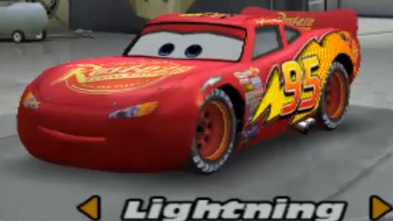 cars using lightning mcqueen arcade champion