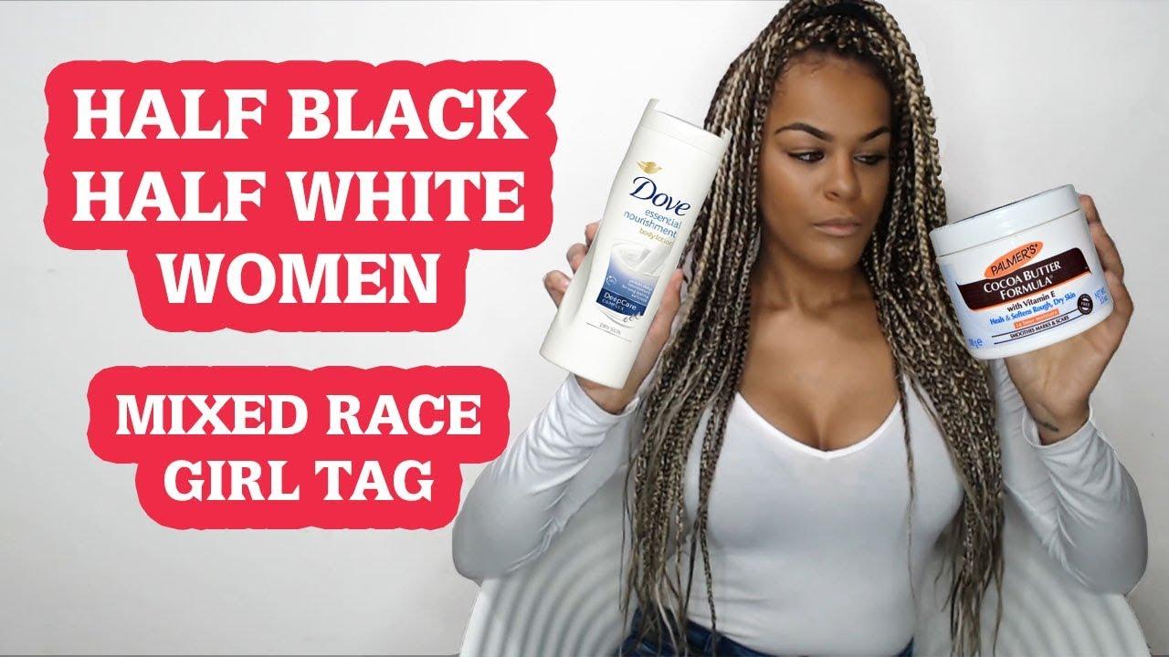 White girls black bred