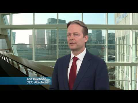 Ton Büchner, CEO of AkzoNobel, answers questions on recent events and the future of the company