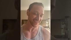 James McAvoy - Instagram Live - 06 Abril 2020