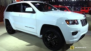 2015 Jeep Grand Cherokee Altitude - Exterior and Interior Walkaround - 2015 New York Auto Show