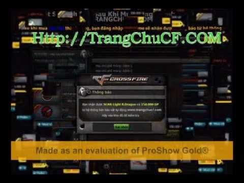 TRANGCHUCF.COM : ViDeo Huong Dan Cách Quay Bau Vat CF,Cach Quay Thompson Gold , MG3