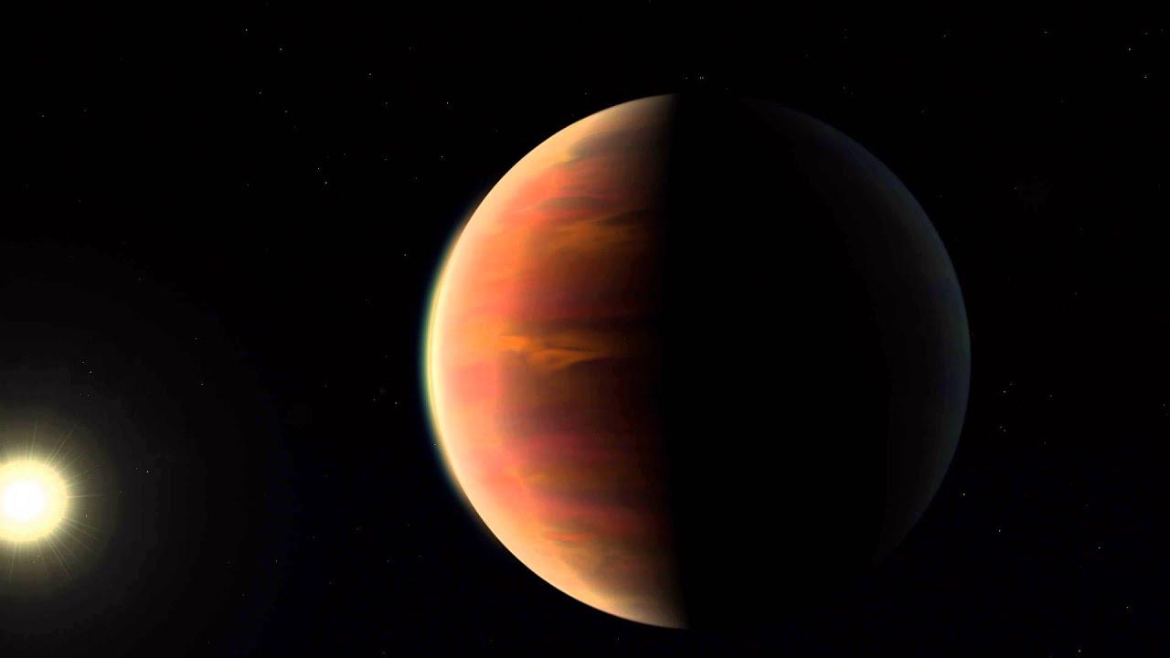 Artist's impression of a Jupiter twin orbiting HIP 11915