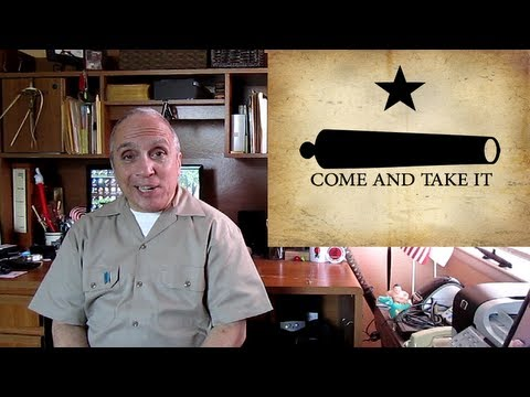 Texas Governor Rick Perry come and take it