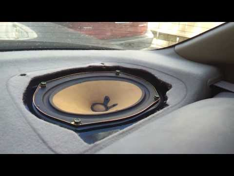 genuine 2002 2006 toyota camry 2 new rear speaker cover. Black Bedroom Furniture Sets. Home Design Ideas