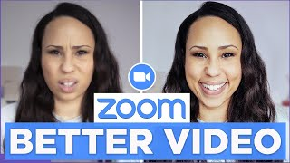 ZOOM Tutorial: How to Get BETTER VIDEO QUALITY (2020) Look Good on Zoom With These Tricks!