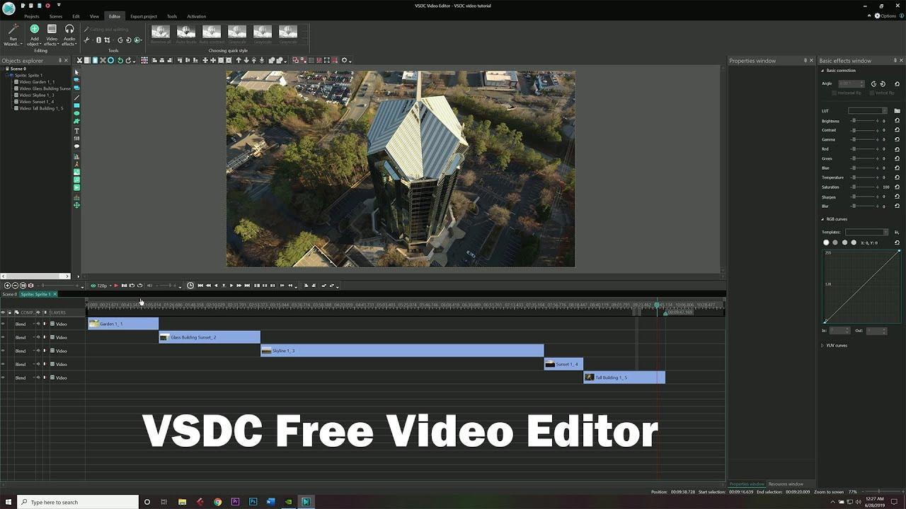 vsdc free video editor free video editing software