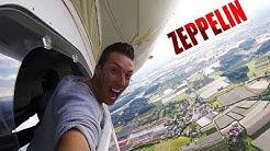 Ist Zeppelin fliegen immer noch so gefährlich?   Selfie aus 300Meter Höhe Vlog #031