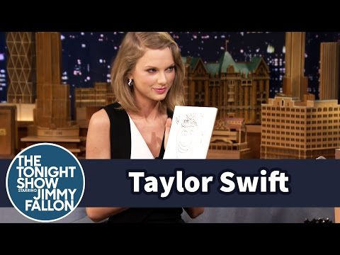 Taylor Swift and Jimmy Draw Each Other...