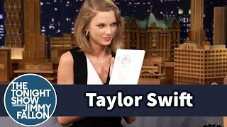 Taylor Swift and Jimmy Draw Each Other Without Looking thumbnail