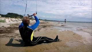 Kitesurfing - trudne początki