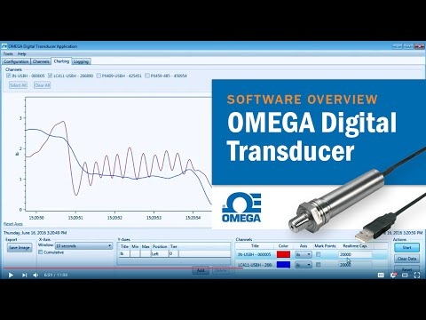 Pressure Transducers: Analyze Real-time Data With OMEGA Digital Transducer