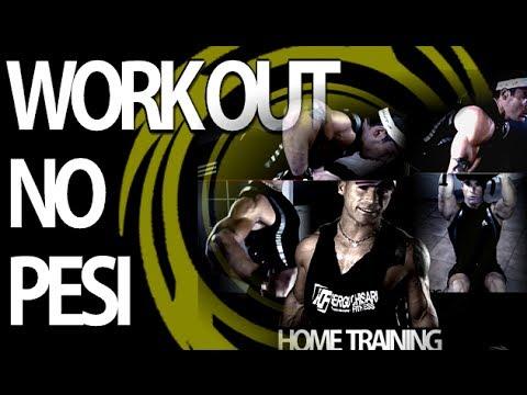 Come allenarsi a casa senza attrezzi o pesi + 15 esercizi body weight