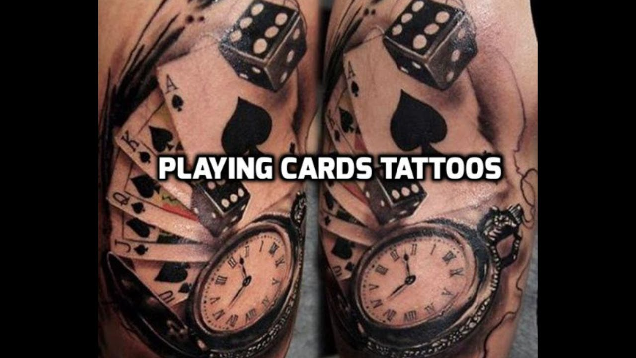 Card Tattoos Best Playing Cards Tattoo Designs