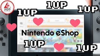 Nintendo Switch eShop UPDATE + UPGRADE! New Sections, More Games!