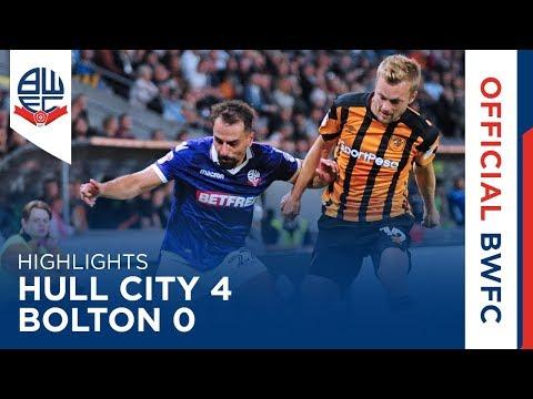 HIGHLIGHTS | Hull City 4-0 Bolton Wanderers