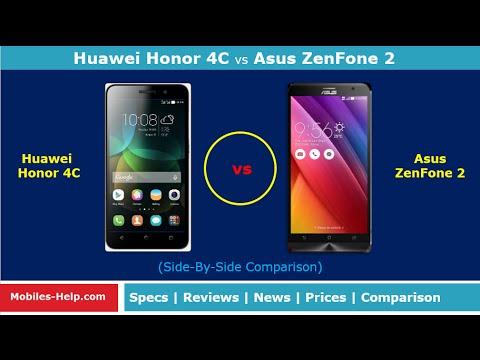 Huawei Honor 4C Vs Asus ZenFone 2 Side By Comparison