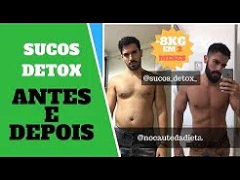 SUCO DETOX 21 DIAS - ANTES DEPOIS DIETA COMO FAZER?