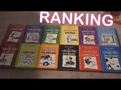 ranking-the-diary-of-a-wimpy-kid-books