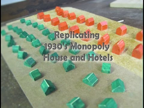 Replicating Vintage Monopoly Hotels