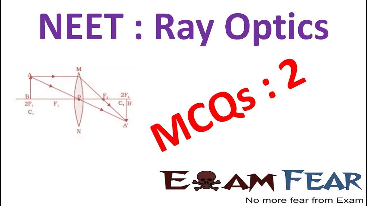 NEET Physics Ray Optics : Multiple Choice Previous Years Questions MCQs 2