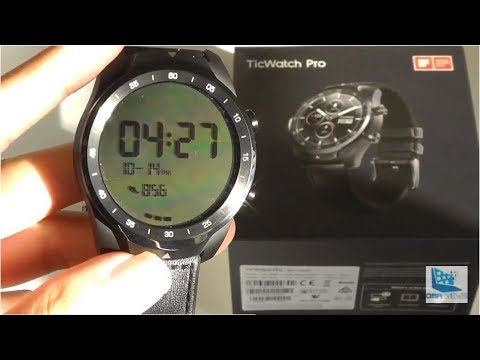 REVIEW: TicWatch Pro, Best $250 Smartwatch? (GPS, NFC) Mp3